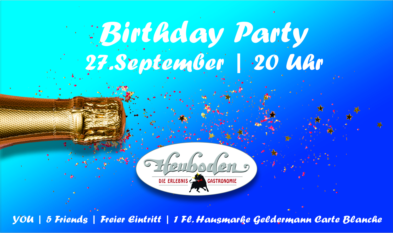Facebook Banner Birthday Party September 2019
