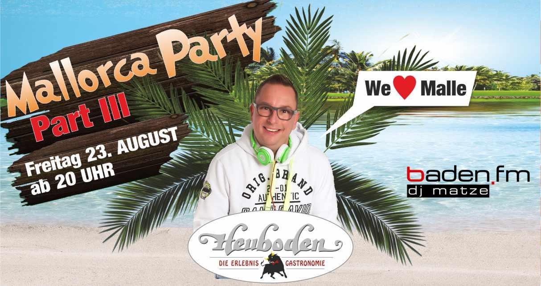 Mallorca Part III 2019 facebook banner